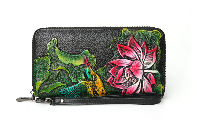 genuine leather wallet female (11)