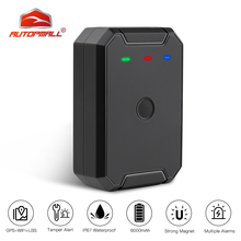 Asset GPS Tracker Locator Waterproof IP67 Remote Control AT1 6000mAh Battery GPS+LBS+WIFI Positioning Strong Magnet Tamper Alert цена