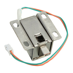 Lowest Price Small 27x29x18mm 12VDC Cabinet Door Drawer Electric Lock Assembly Solenoid Lock Durable in Use