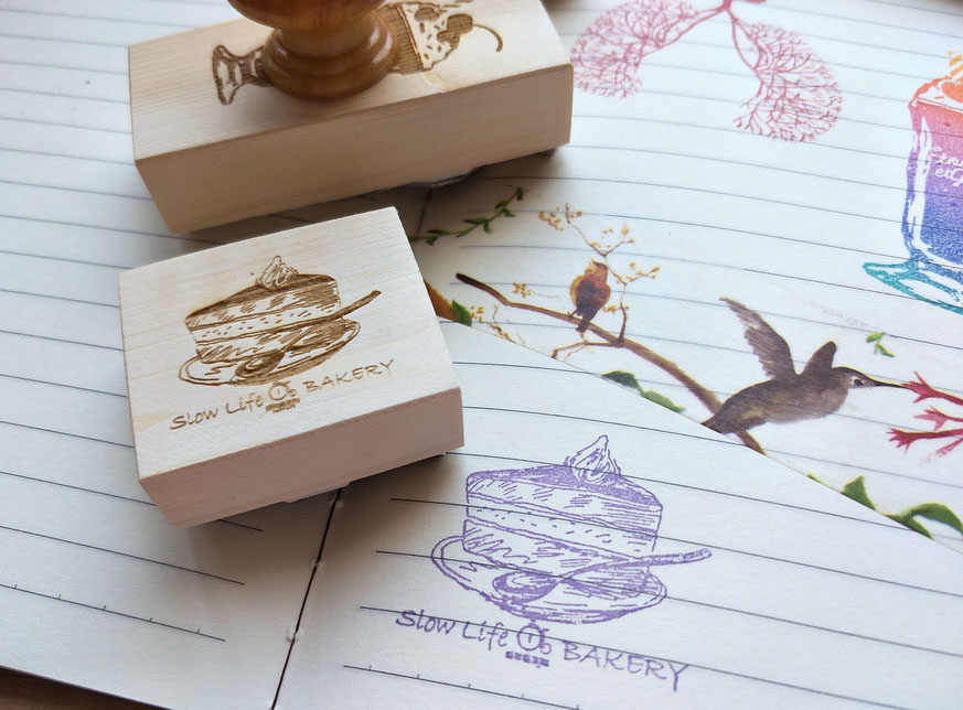Custom Library Stamp, ไม้ยางแสตมป์, ส่วนบุคคลแสตมป์, Ex LIbris, แสตมป์หนังสือ