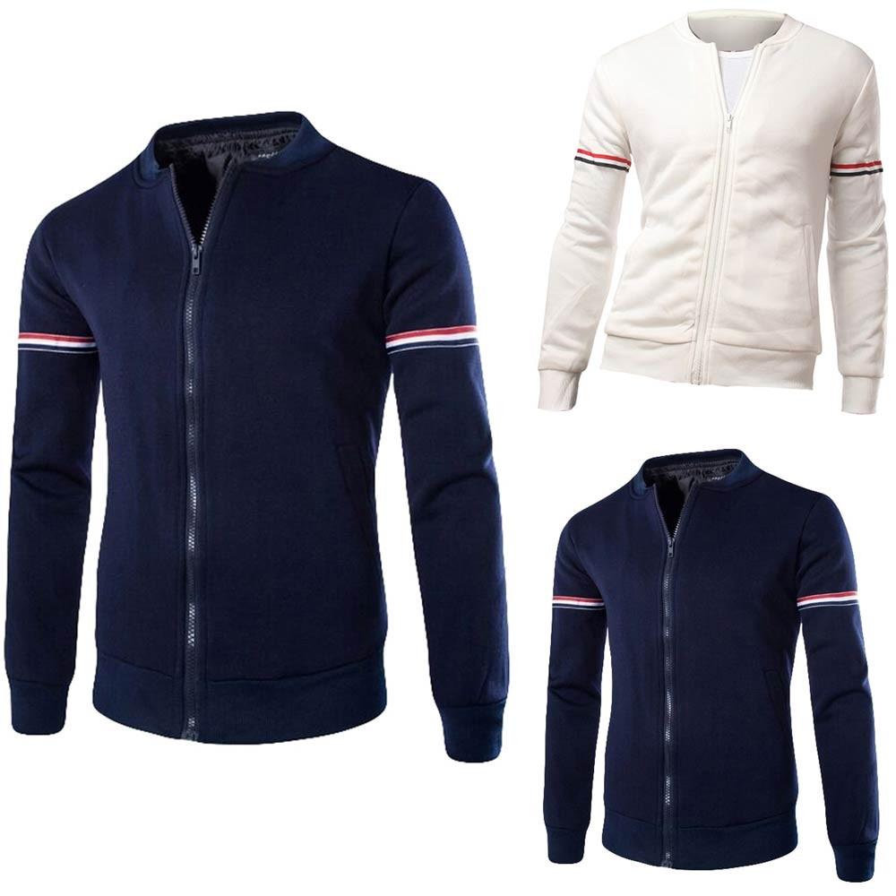 Men/'s Fleece Zipper Hoodie Hooded Sweatshirt Coat Jacket Outwear Tops Fashion