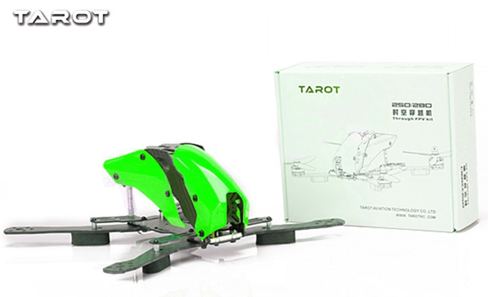 Tarot TL250H 250mm Carbon Glass Fiber Mixed Mini 250 FPV Quadcopter Frame Kit DIY RC Racer Drone -TL250H f330 quadcopter frame kit mini quad frame navigation led light rc fpv frame drone kit support kk mk mwc uav