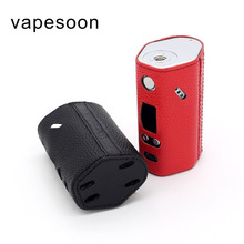 Authentic Vapesoon PU Leather Case For Wismec Reuleaux RX200S TC BOX Mod Black Red Color Retail Package