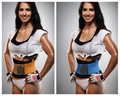 2016 Hot Corpo Shaper Magro Cintura Tummy Cinturão Belt Cincher Cintura Corset Underbust Controle Firme Trainer Cintura Banda Belly Slimming