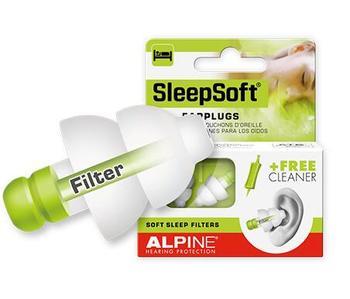 Беруши для сна Alpine, мягкие, для путешествий, для сна, с защитой от храпа, заглушки для ушей от шума, для плавания