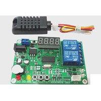 Dc 5V 12V 24V Digital Intelligent Temperature Humidity Controller Relay Thermostat