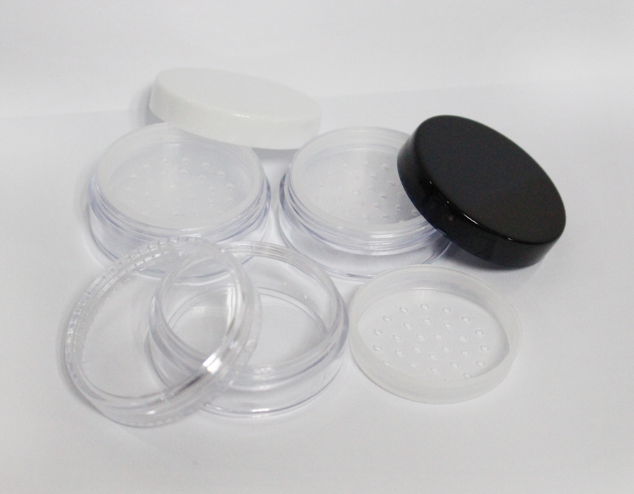 20ml loose powder jar with sifter loose powder case cosmetic packing 10g loose powde case with