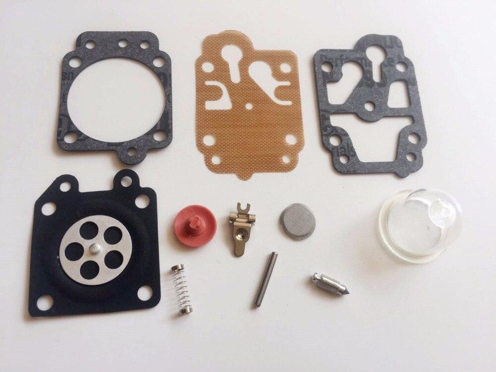 Carburetor Carb Kit For 43CC 52CC 40-5 44F-5 34F 36F 139F Mitsubishi TL33 TL43 TL52 CG260 CG330 CG430 CG520 Brushcutter