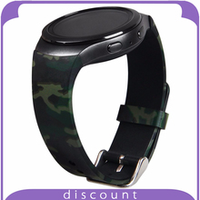 Band für Samsung Getriebe S2 Camouflage Muster Weichen Silikon Gummi Ersatz Band Armband für Samsung Getriebe S2 Smartwatch