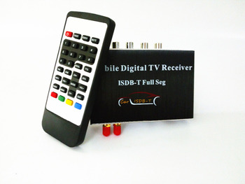 140-190km/h Double Antenna ISDB-T Full Seg Mobile Digital TV Box Car TV Receiver  For Brazil Chile Argentina Peru Japan 2