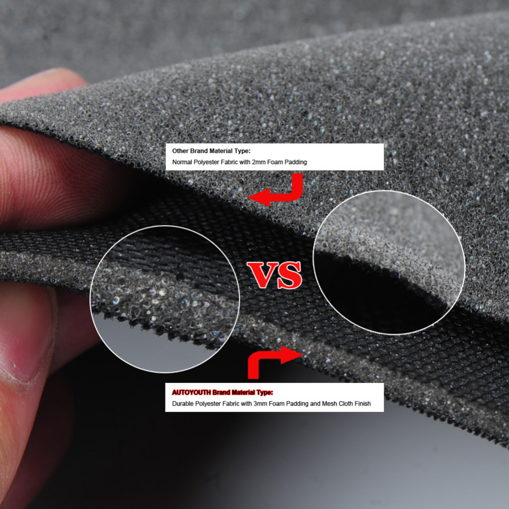 AUTOYOUTH 1PCS Sandwich Cloth Classic Car Seat Cover Universal Fit Most Cars Styling Accessories Car Seat Protector 2