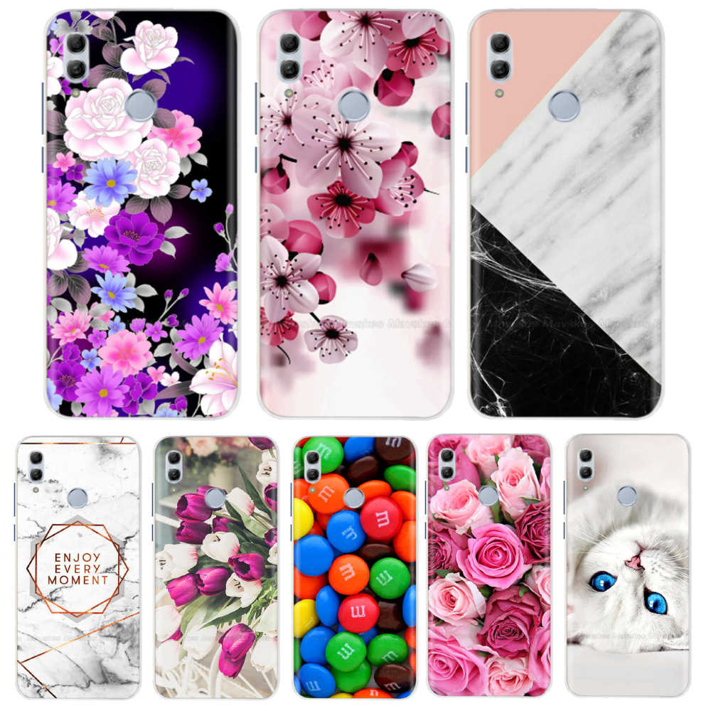 "Huawei Honor 10 Lite case silicone cover 6.21"" soft tpu case for honor 10 coque etui hoesje funda on for Honor10 phone cases"