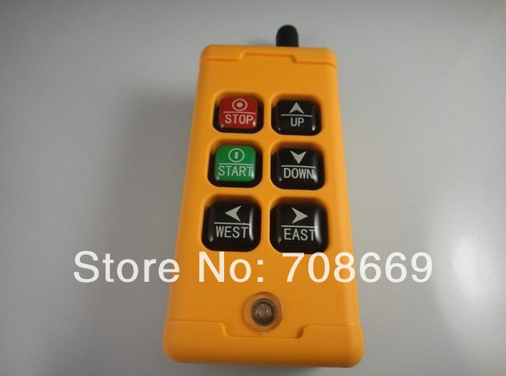 Image 2 - 6 Channels Control Hoist Crane Radio Remote Control System-in Switches from Lights & Lighting