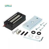 12V 60kg Eletrônico Fechadura Magnética Elétrica fail safe DC Eletromagnética mini M60 Bloqueios EM Força de Retenção para o Acesso Da Entrada Da Porta|Trava elétrica|Segurança e Proteção -