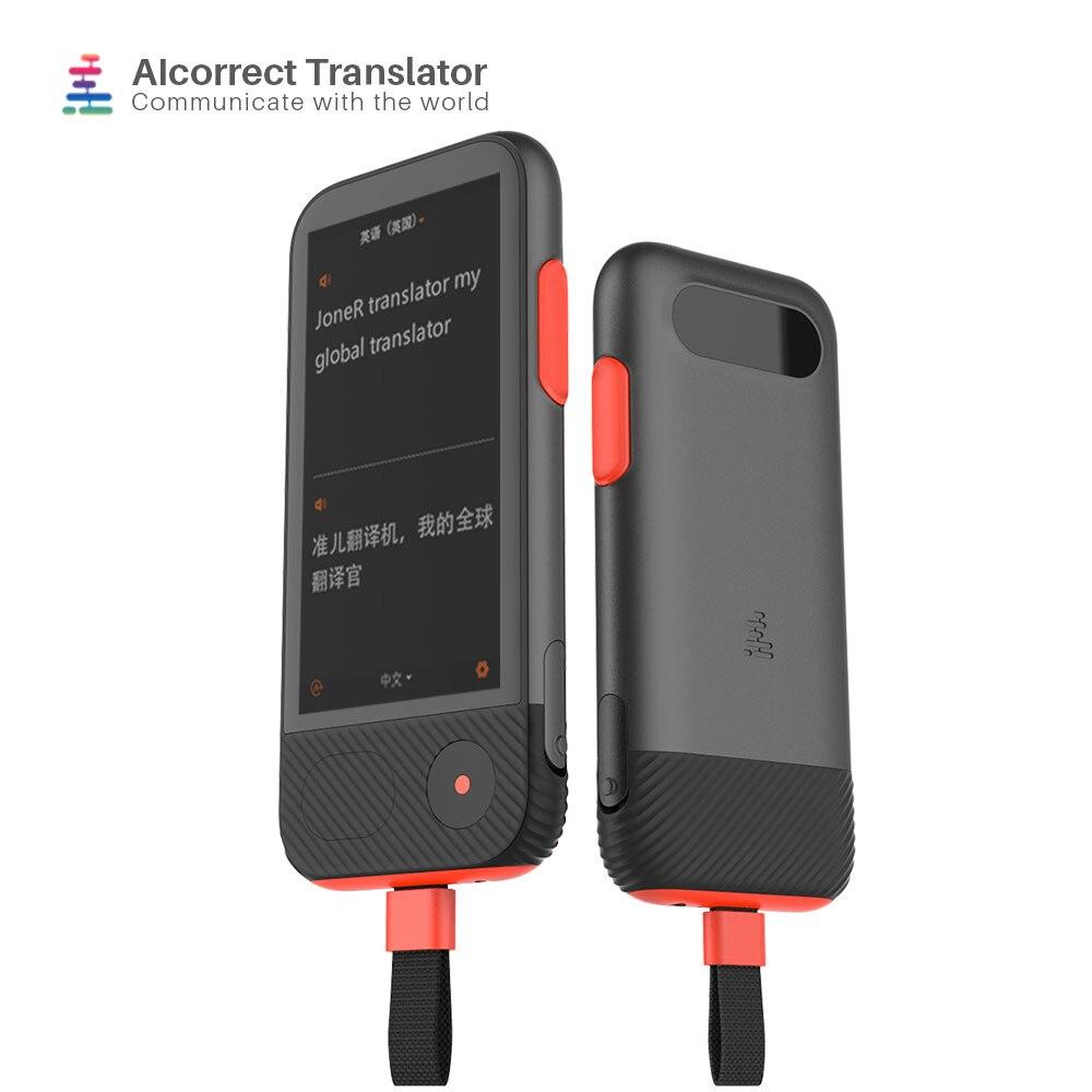 Instant Translator Voice 45 Languages Two-way Photo Translation Smart AI Travel Translator Device Russian English Translation