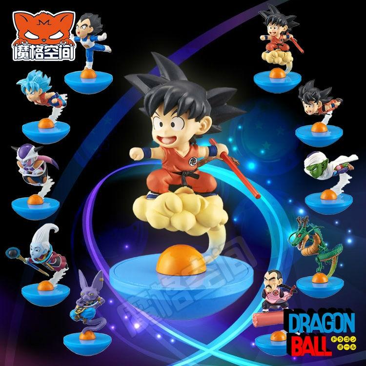 Dragon Ball Z Battle Of Gods Figures Super Saiyan God Son Goku,Gohan,Vegeta ,Beerus PVC Action Tumbler Figure Doll Model Toys