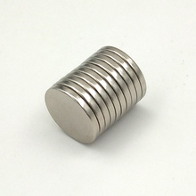 50pcs/pack diameter 15x2mm rare earth neodymium magnets N50 disc 15*2mm