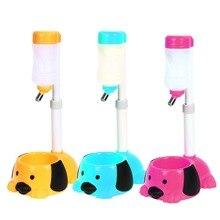 Fácil de Limpiar Ajustable Dispensador Automático de Agua Para Mascotas Perro Gato Puddy Bebedor de Peluche