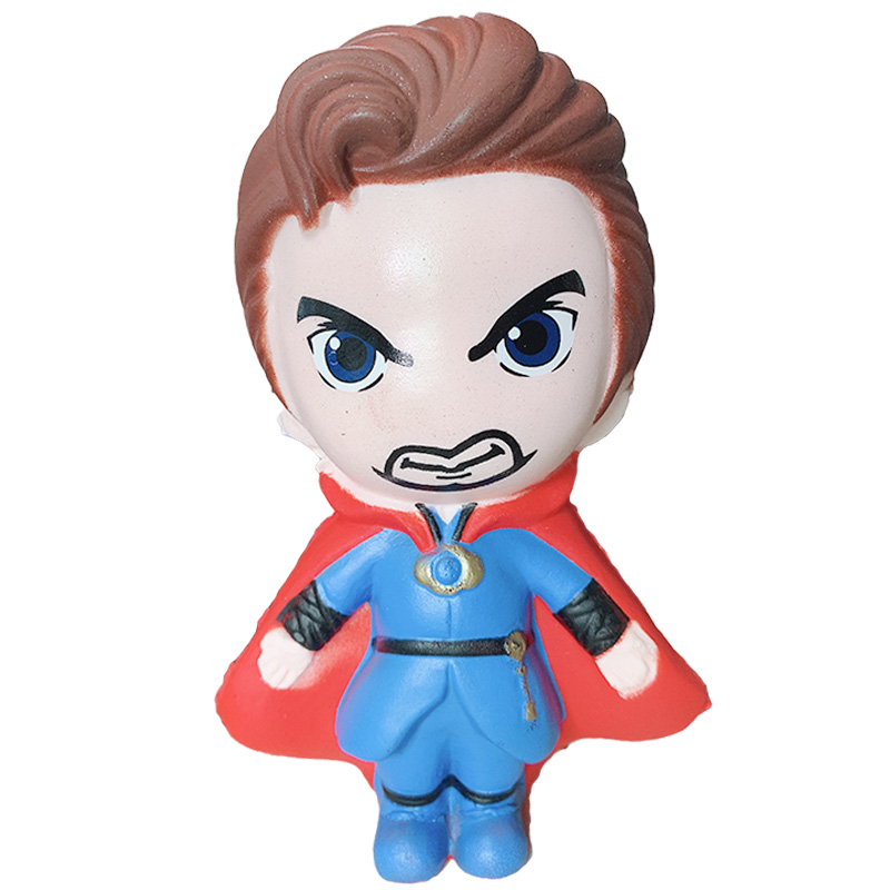 Jumbo Doctor Strange Squishy Cartoon Doll Slow Rising Soft Sweet Scent Squeeze Toys Stress Relief Fun For Kid Xmas Gift Toy