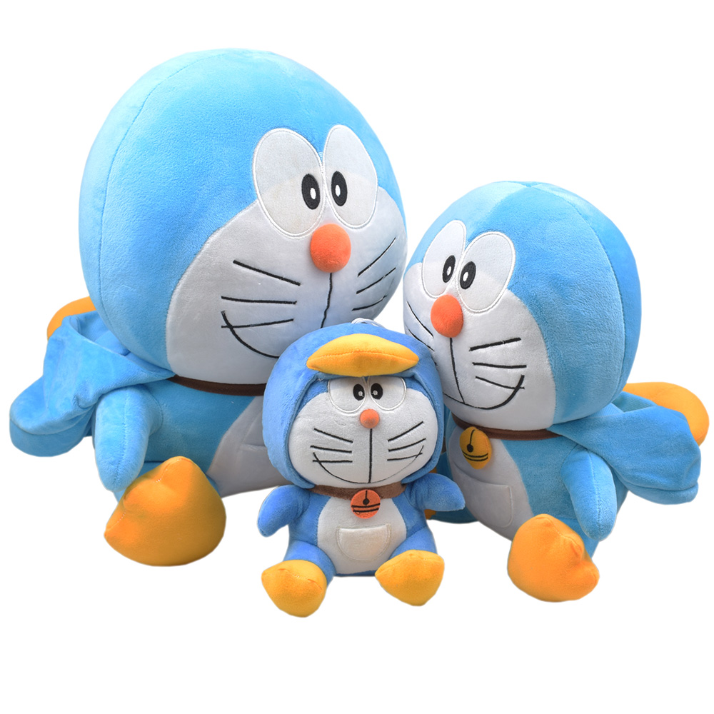 QICSYXJ Birthday Gift Supply Doraemon Plush font b Toy b font 8 12 16 Penguin Stuffed