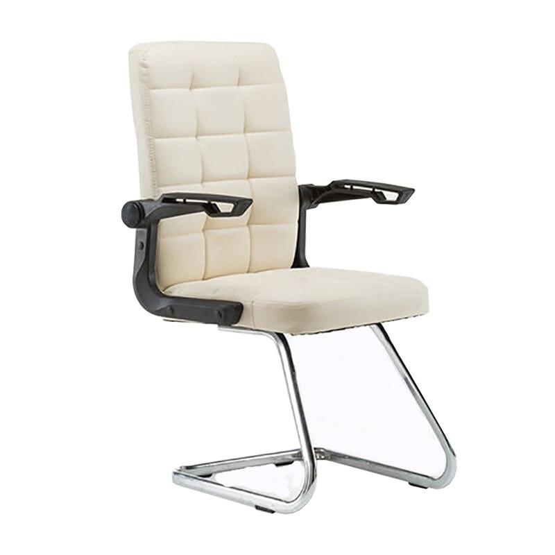 Computer Stoel Home Office Luie Stoel Boog Vorm Student Slaapzaal Game Seat Personeel Rugleuning Eenvoudige Stoel