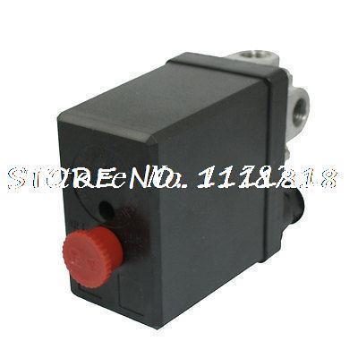 NC NO AC 240V 20A 4 Port Air Compressor Pressure Switch 175 PSI 12 BarNC NO AC 240V 20A 4 Port Air Compressor Pressure Switch 175 PSI 12 Bar