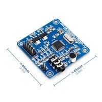 Vs1003b vs1053 placa de desenvolvimento do módulo mp3 função de gravação a bordo