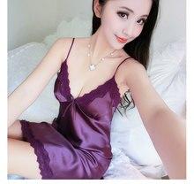 Free Shipping2016 New  summer style Nightgown Nightdress pijama Ladies Sleepwear Women nightwear AZ708