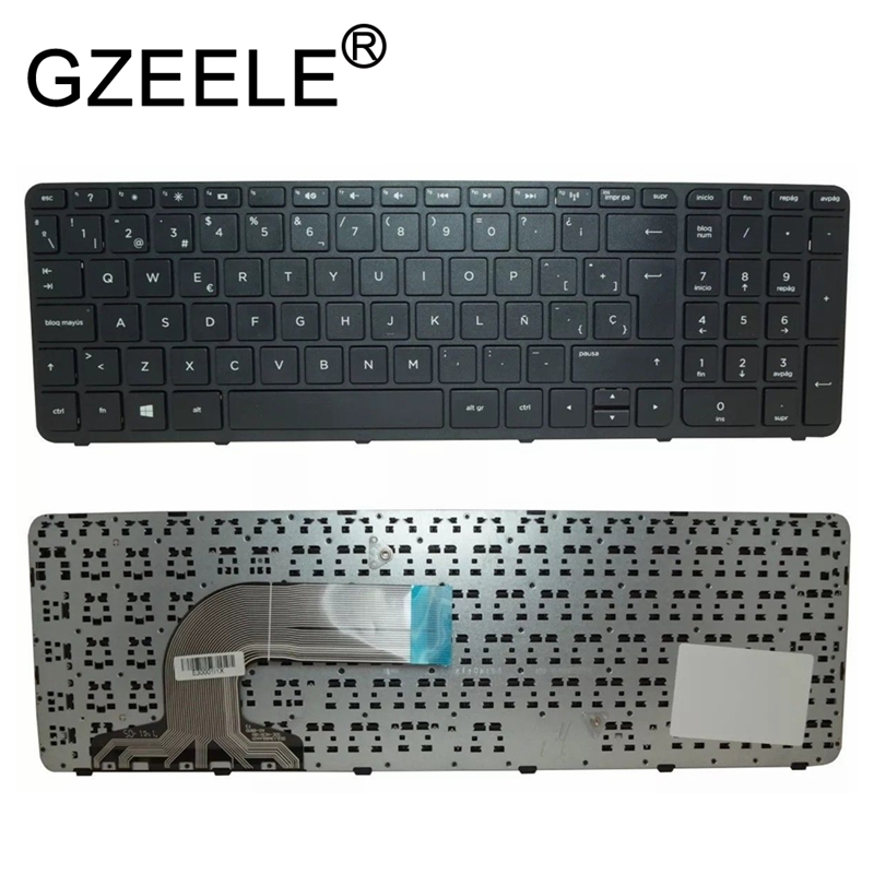GZEELE Notebook Keyboard For HP Pavilion 250 G3 255 G2 15-N 15-R 15-G 15-g000 15-r000 Teclado SP Spanish Latin LA Teclado