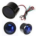2016 Brand New Black 2inch 52mm Car Auto Tacho Tachometer Gauge Blue Digital LED Tacho Gauge Meter RPM Clamps Supplied