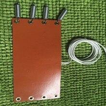 Силиконовый обогреватель для автомобиля, топливный фильтр, дизельный Обогреватель с термостатом 80C, автомобильный топливный бак с низким давлением, тепловая пластина 70X240 мм 12 В 50 Вт