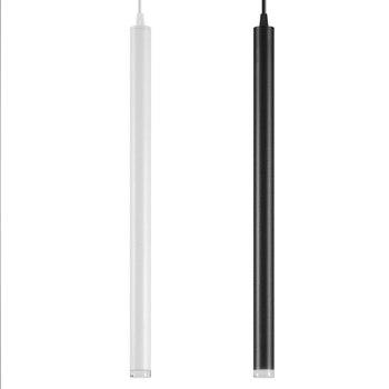 Lámpara Colgante Led Tubo Largo Luz Cocina Isla Comedor Tienda Decoración Para Barra Mostrador Tubo Colgante Lámpara De Cocina