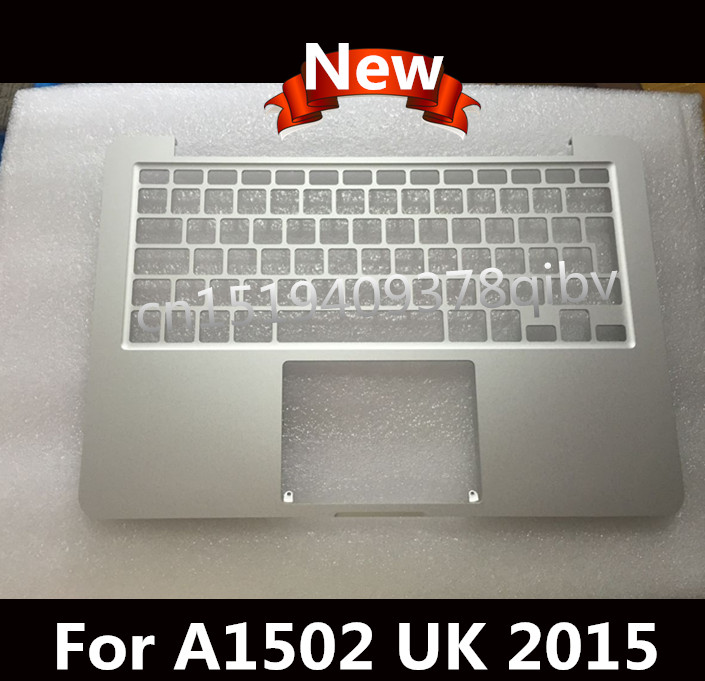 Nuovo Per Macbook Pro 13 A1502 Retina EU UK Topcase Palmrest No keyboard no trackpad 2015Nuovo Per Macbook Pro 13 A1502 Retina EU UK Topcase Palmrest No keyboard no trackpad 2015