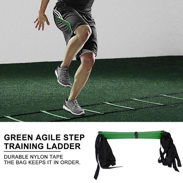 4/6/7/9/12/14 Rung Nylon Straps Agility Training Ladders Fitness Equipment 4