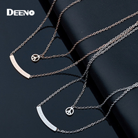 Simple Design Small Lovely Pendant Necklace For Women Ladies Collar Necklaces With Chains Links Choker Necklace