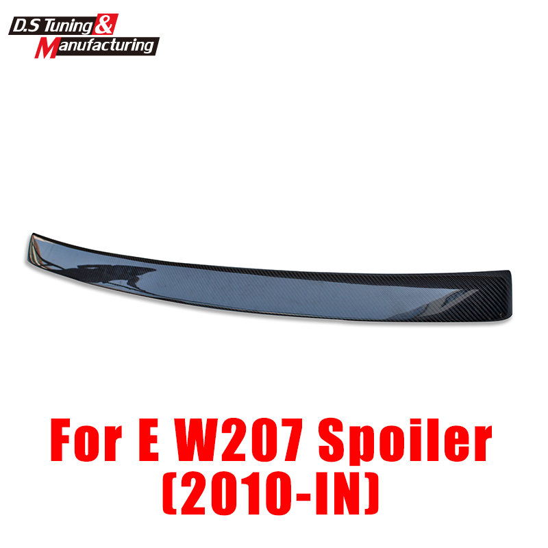 Mercedes E class 2-door W207 A207 coupe convertible AC Style rear back roof spoiler for benz 2010 - Present mb barbell мв 2 27 grey