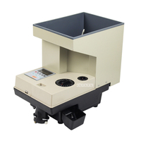 Full Automatic Electronic Coin Counting Machine Can Count All Country's Coins 1500pcs/min 15 35mm Coin diameter110V/220V
