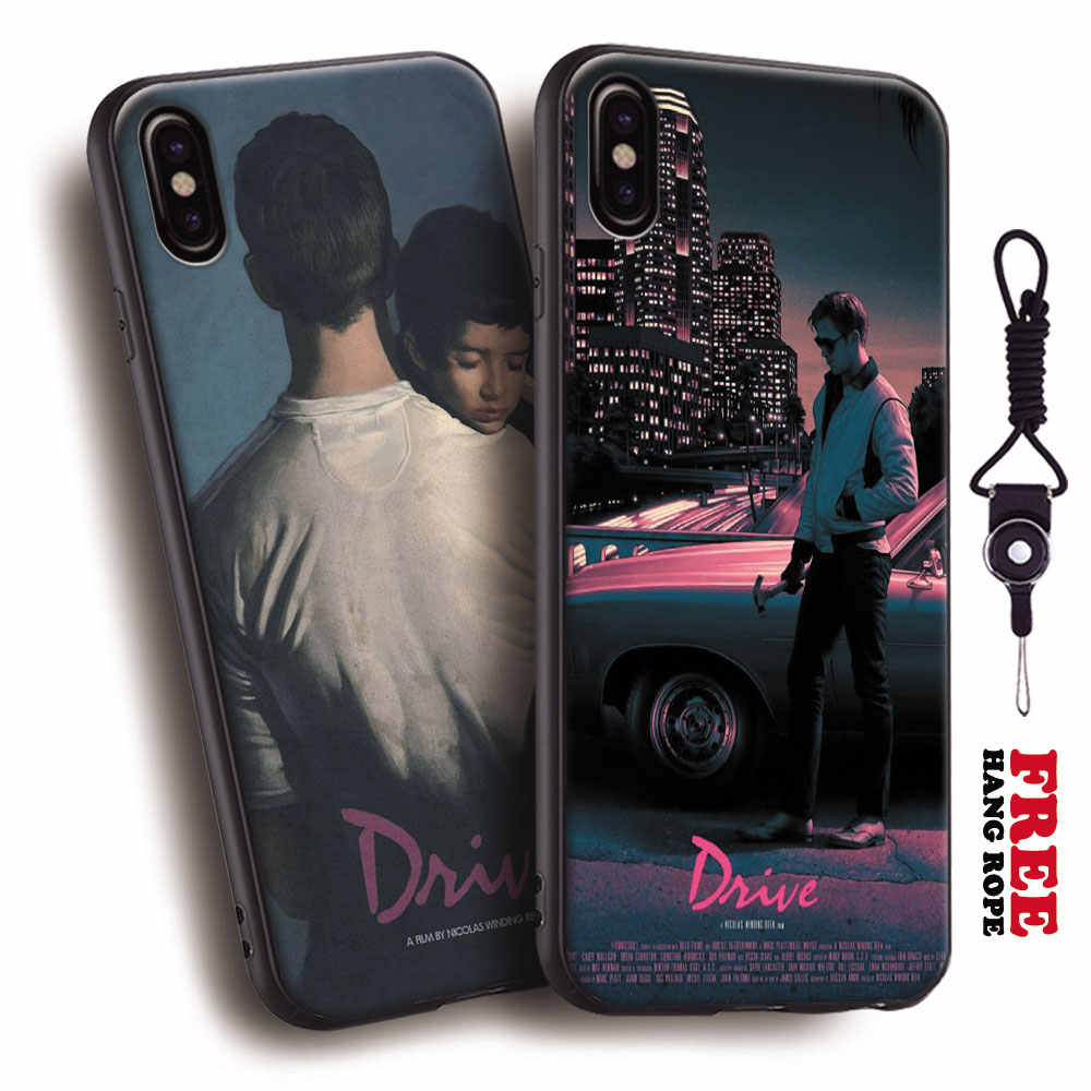 Unidade 2011 filme Cartaz Ryan Gosling Tpu Silicone Suave Phone Case Capa Shell Para Apple iPhone 5 5S Se 6 6 s 7 8 Plus X XR XS MAX