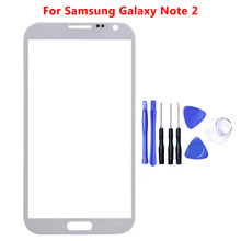 Touch Screen Sensor Voorpaneel Digitizer Glas Vervanging Voor Samsung Galaxy Note 2 3 4 5 N7100 N9000 N910 N920 note4 Note5(China)