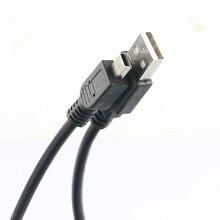 LANFULANG كاميرا 5 دبوس USB نقل البيانات وصلة كابل سلك من الرصاص لكانون EOS 5D علامة II III 6D 7D 10D 20D 30D 40D 50D 60D 70D