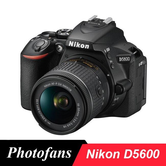 Nikon D5600 DSLR Camera -24.2MP -Full HD 1080p -Wi-Fi Bluetooth (New) nikon p900 s camera coolpix p900s digital cameras 83x zoom full hd video wi fi brand new