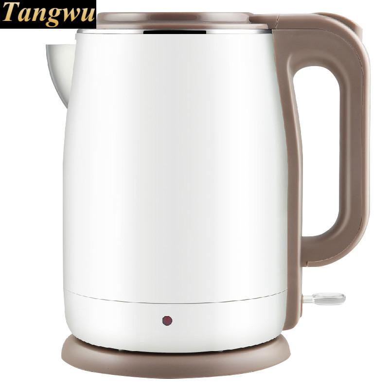Electric kettle boiling pot 304 stainless steel home insulation 1.5l electric kettle boiling pot 304 stainless steel home insulation 1 7l