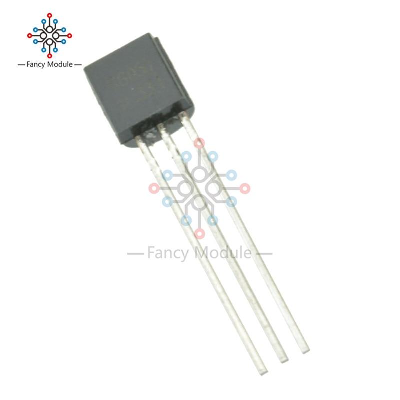 Aktiv 100 Pcs S8050 S8050d 8050 Transistor Npn 25 V 0.5a Zu-92 Fsc Weitere Rabatte üBerraschungen