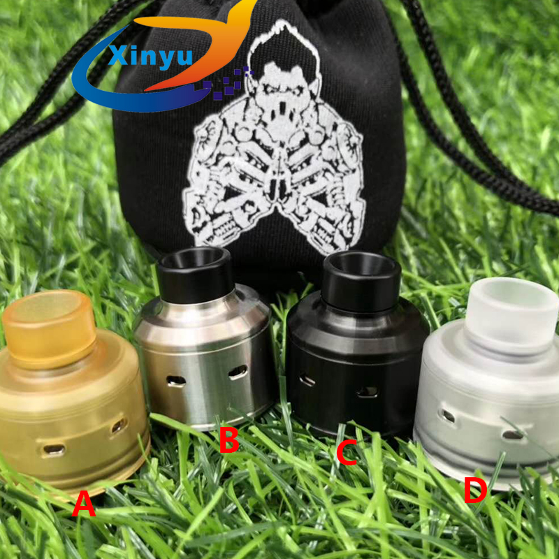 2018 NEWEST Hadaly Citadel Rda 316 Stainless Steel 22mm Adjustable Reubuildable Drip Tank Atomizer For Mechanical Vaporizer Kits