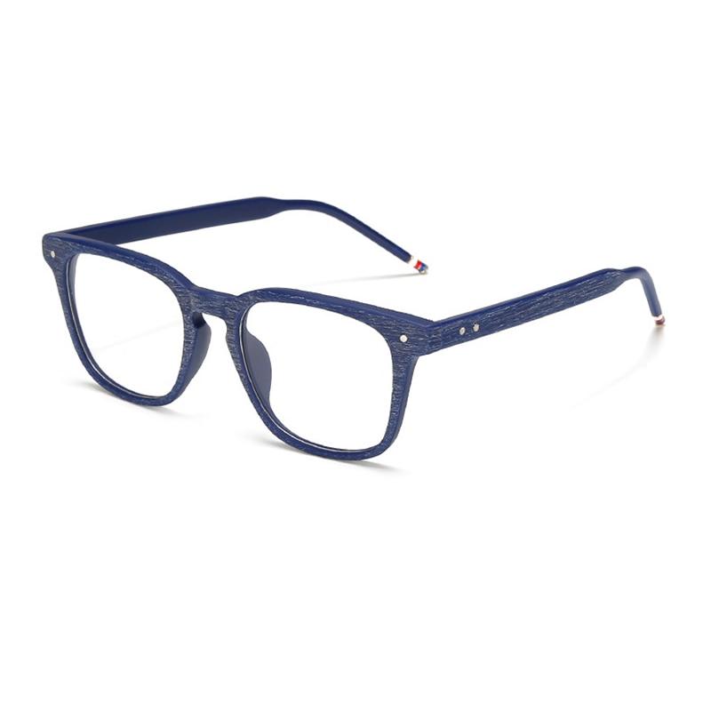 Das Beste Neue Angekommene Progressive Multifokale Photochrome Myopie Gläser Für Männer Frauen Großen Platz Rahmen Tr90 Faux Holzmaserung Brille L3