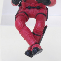 Deadpool 2 Thanos Action Figure Sitting Posture Model Mini Doll Collection Figurine Toys For Boys 7cm 2