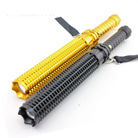 Long Tactical Self Defense Flashlight Cree Q5 Bright Flash Light Led Torch Lamp Lantern Outdoor Emergency