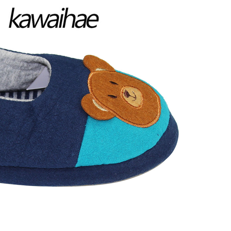 Cute-Bear-Children-Shoes-Girls-Boys-Slipers-Home-Indoor-House-Kids-Flat-Cotton-Shoes-Kawaihae-Brand-5