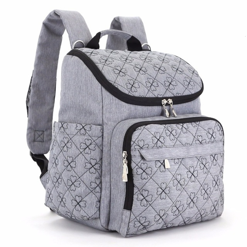 Diaper Bag Fashion Mummy Maternity Nappy Bag Brand Baby Travel Backpack Diaper Organizer Nursing Bag For Baby Stroller цена и фото