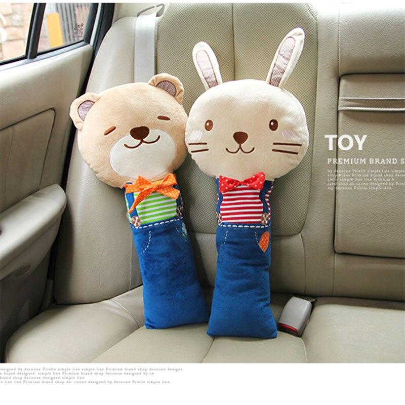 Seat Belt Cover Cute Cartoon Animal Car Safety Seat Belt Shoulder